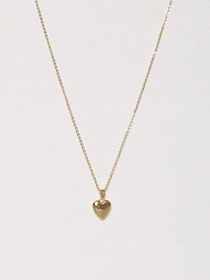SNÖ of Sweden halsband Small Heart Pedant Necklace 42 Guld