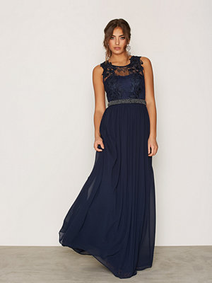 NLY Eve Lace Cover Gown Navy