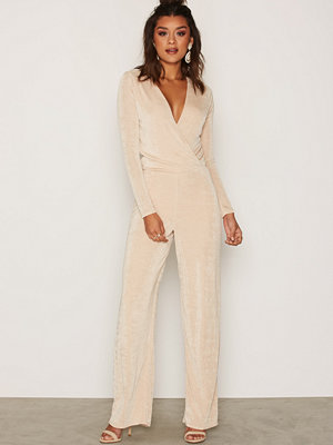Jumpsuits & playsuits - NLY Trend Glamorous Jumpsuit Champagne