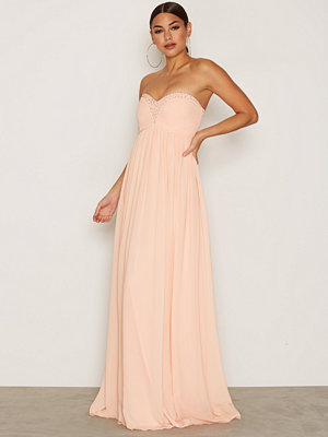 NLY Eve Sparkle Dream Gown Peach