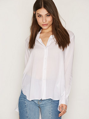 Filippa K High-low Tencel Shirt White