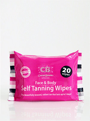 Solning - Cocoa Brown Self Tanning Wipes 20 pcs Transparent
