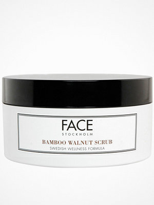 Ansikte - Face Stockholm Bamboo Walnut Scrub Transparent