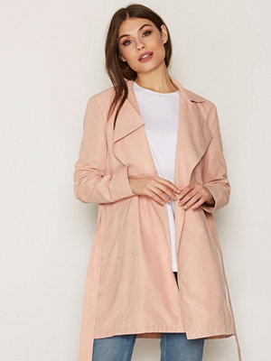 Trenchcoats - NLY Trend Soft Spring Trench Coat Rosa
