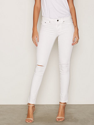 NLY Trend Superstretch Cut Denim Vit