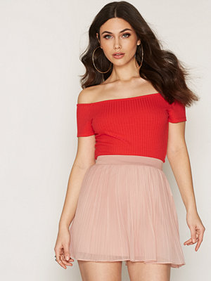 NLY Trend Wide Rib Off Shoulder