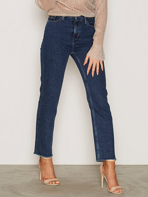 Jeans - Calvin Klein Jeans High Rise Cropped Stone Blue