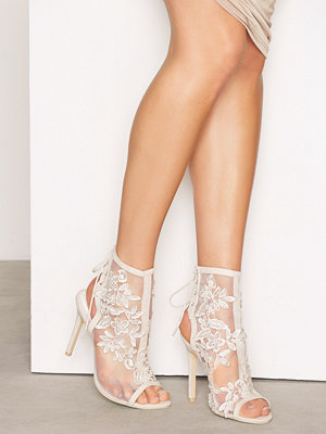 NLY Shoes Lace Bootie