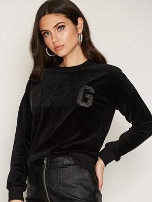 Anine Bing Bing Sweater In Velvet