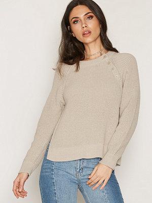 Filippa K Cotton Mix Slit Pullover Linen