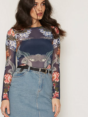 NLY Trend Mesh Print Top