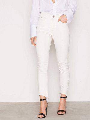 Jeans - One Teaspoon Moleskin White Kidds