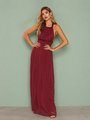 NLY Eve Tied Back Gown Burgundy