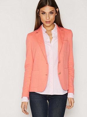 Gant Jersey Pique Blazer Pink