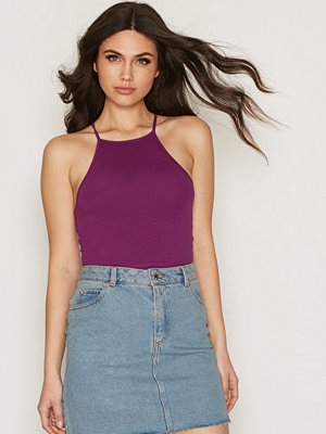 NLY Trend Tight Neckline Top Lila