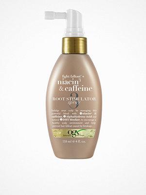Hårprodukter - OGX Niacin & Caffeine Root Stimulator Spray 118 ml Transparent