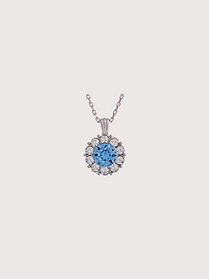 Lily and Rose halsband Sofia Necklace Sapphire