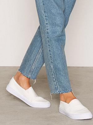 NLY Shoes Slip In Sneaker Vit