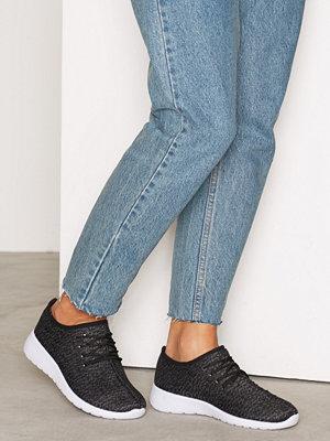 Sneakers & streetskor - NLY Shoes Knitted Sneaker Svart/grå