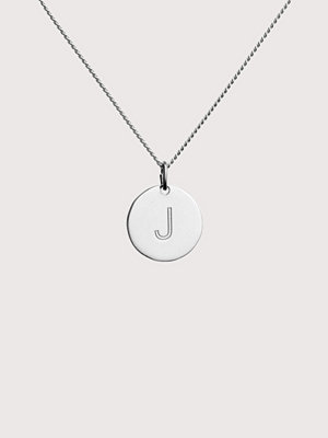 Blue Billie smycke Letter Pendant J