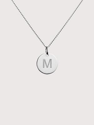 Blue Billie smycke Letter Pendant M
