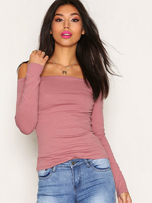 NLY Trend Off Duty Shoulder Top