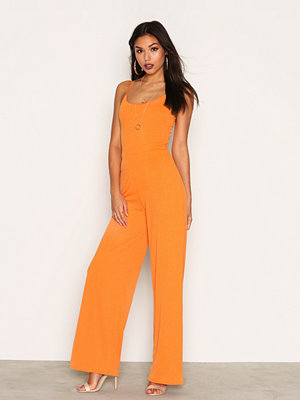 Jumpsuits & playsuits - NLY Trend Strappy Jumpsuit Orange