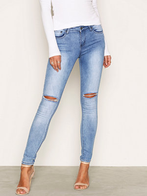 NLY Trend Superstretch Destroy Denim