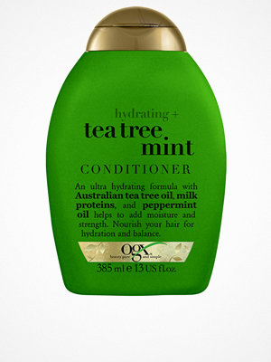 Hårprodukter - OGX Teatree Mint Conditioner 385 ml Transparent