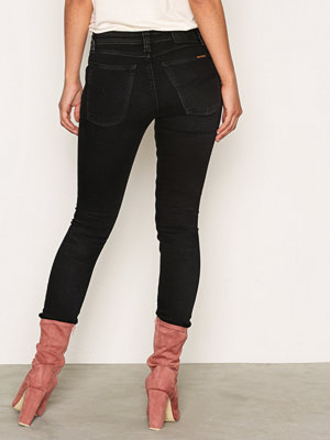 Nudie Jeans Skinny Lin Black Habit