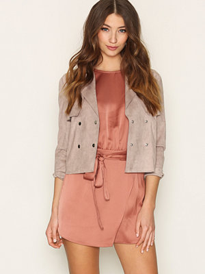 Miss Selfridge Cropped Trench Coat