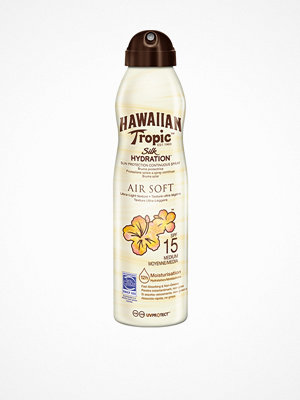 Solning - Hawaiian Tropic Silk Hydration Air Soft Spray SPF 15 180 ml Transparent