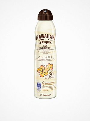 Solning - Hawaiian Tropic Silk Hydration Air Soft Spray SPF 30 180 ml Transparent