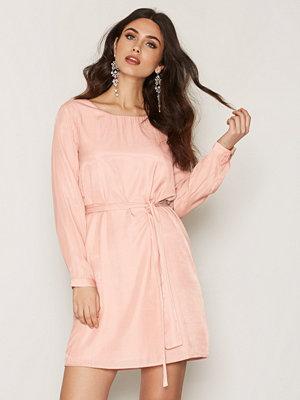 Dry Lake In Love Sleeve Dress Light Pink