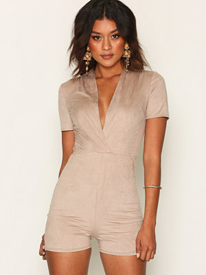 Jumpsuits & playsuits - NLY One Suede Look Playsuit
