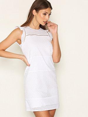 MICHAEL Michael Kors Combo Eyelet S/S Dress White