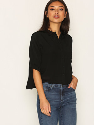 Topshop Short Sleeve Roll Up Shirt