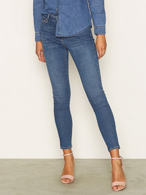 Topshop Dark Stone Leigh Jeans