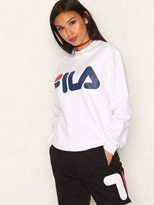 Fila Classic Logo Sweater Bright White