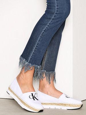 Tygskor & lågskor - Calvin Klein Jeans Genna Canvas Vit