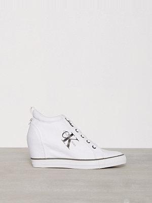 Calvin Klein Jeans Ritzy Canvas Vit