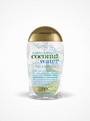 Hårprodukter - OGX Coconut Water Shampoo 89 ml Transparent