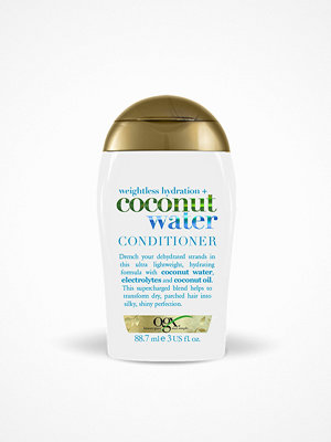 Hårprodukter - OGX Coconut Water Conditioner 89 ml Transparent
