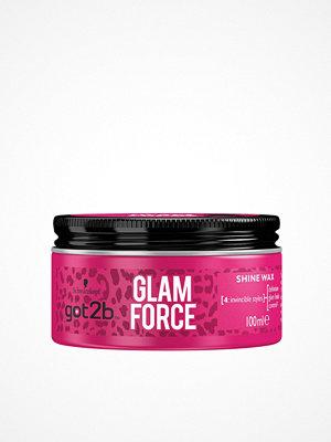 Hårprodukter - Schwarzkopf Got2B Glam Force Wax 100 ml Transparent