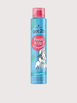 Hårprodukter - Schwarzkopf Got2B Fresh It Up Volume Dry Shampoo 200 ml Transparent