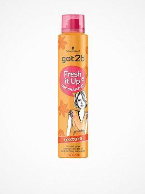 Hårprodukter - Schwarzkopf Got2B Fresh It Up Texture Dry Shampoo 200 ml Transparent