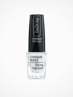 Naglar - IsaDora Chrome Nails Fixing Top Coat Silver Mirror