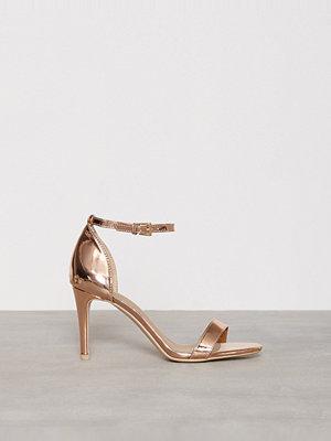NLY Shoes Heel Sandal Roséguld