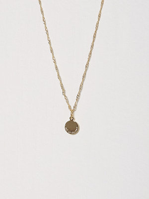 Smycken - SNÖ of Sweden Remy Small Round Pendant Neck 38