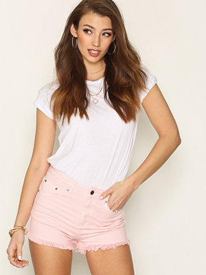 NLY Trend Ready To Roll Denim Shorts Rosa